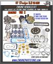 97 Dodge Dakota/1500/Van 3.9 239 Magnum Engine rebuild Kit vin x