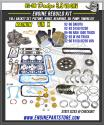 92-96 Dodge Dakota/Truck/Van 3.9 239 Magnum Engine rebuild Kit vin x