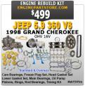 98 Jeep Grand Cherokee 5.9 V8 Engine rebuild Kit