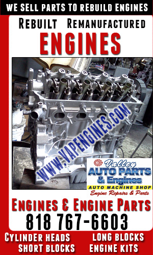 Auto Parts to Rebuild Engines