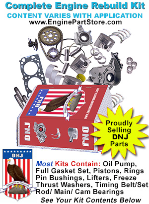 87 95 Chevy Gm Gmc 5 7 350 V8 Engine Rebuild Kit Vin D K M