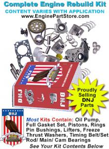 ENGINE REBUILD KIT 99-06 CHEVY GMC 262 4.3L V6 VORTEC PISTONS BEARINGS VIN W X