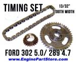 68-72 ford 302 5.0 timing set