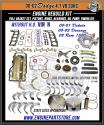 00-02 dodge durango dakota 4.7 v8 engine rebuild kit w/tang