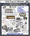 03-06 dodge hemi truck 345 5.7 V8 engine rebuild kit