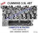 cummins 4BT 3.9 cylinder head w/valves